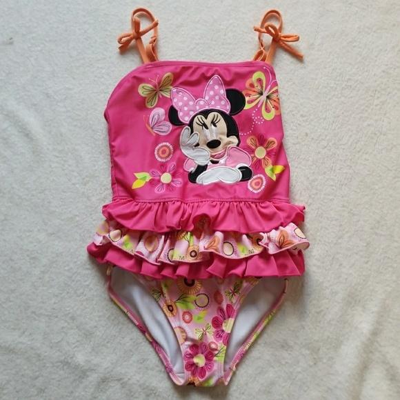 161e3ca34a Disney Swim | Girls Minnie Mouse Bathing Suit | Poshmark